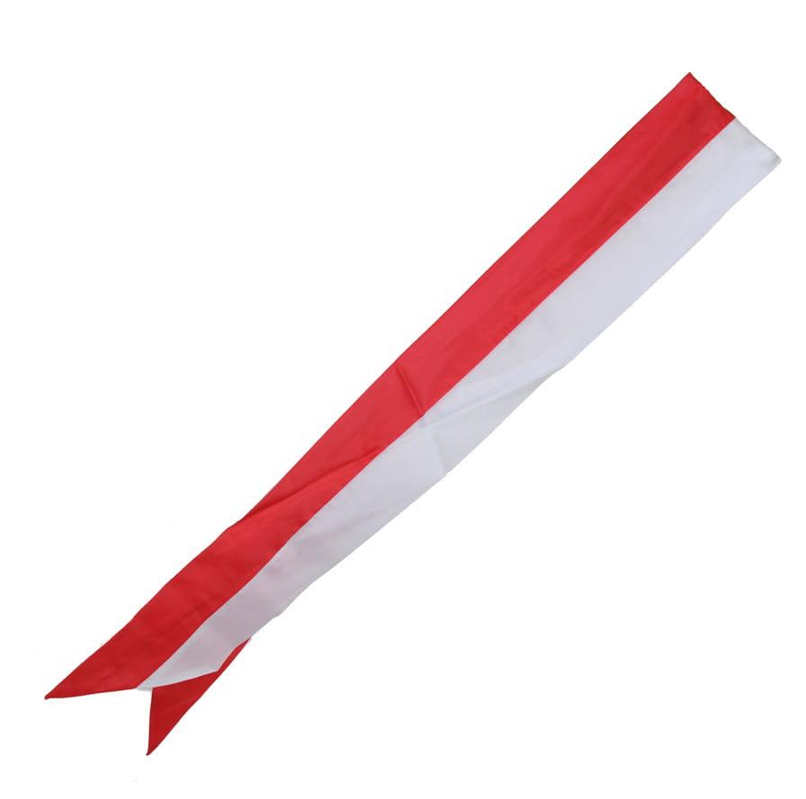 Nowość Szarfa biało-czerwona Azymut 360 EN62